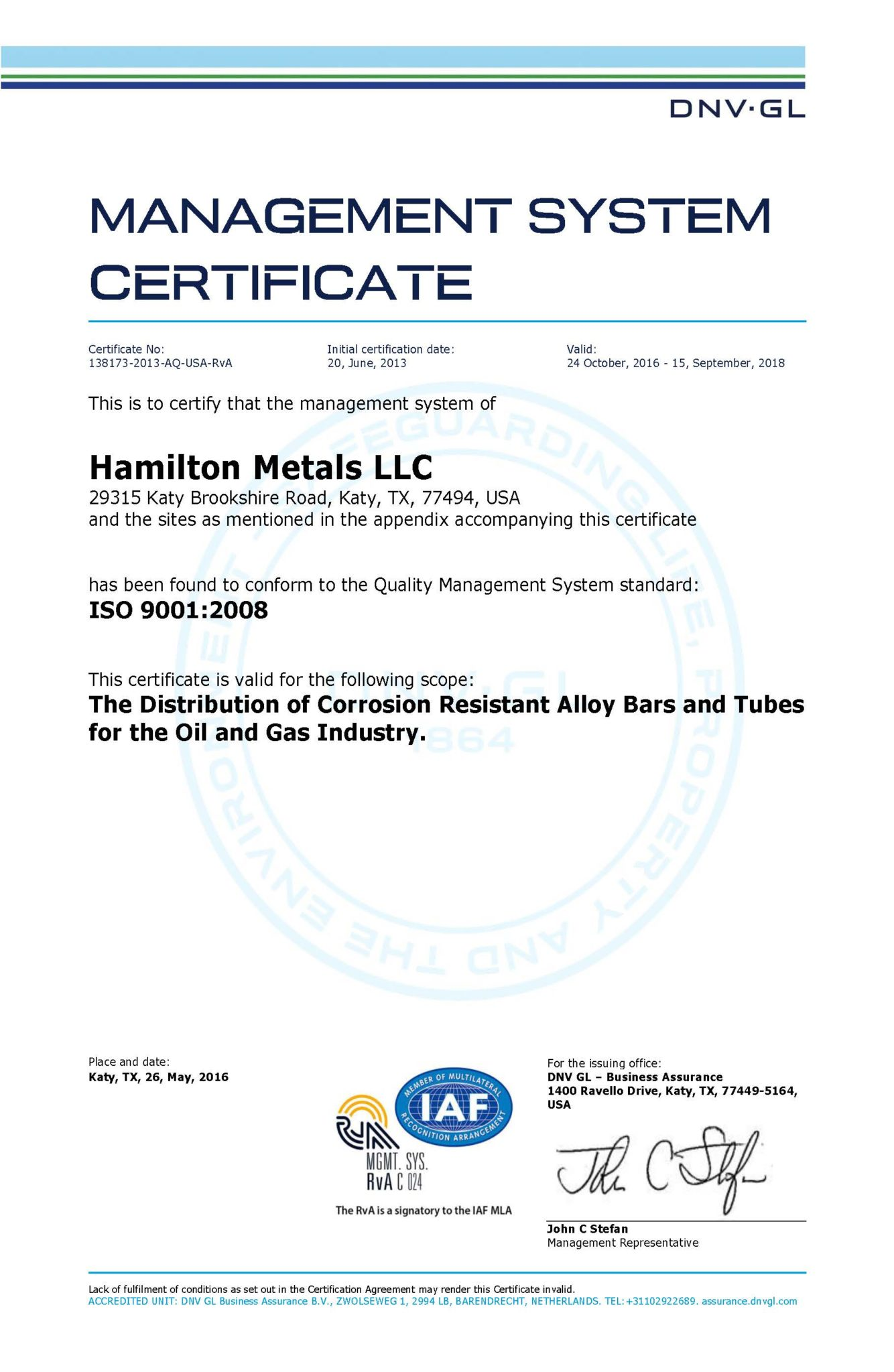 HM-ISO_Cert_Global_Page_1 - Hamilton Metals